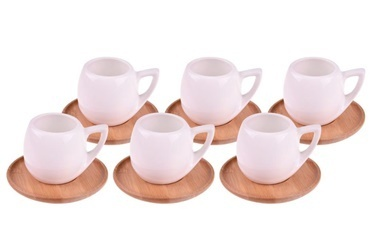 Bambum Espira 6 Kisilik Kahve Fincan Takimi Renkli